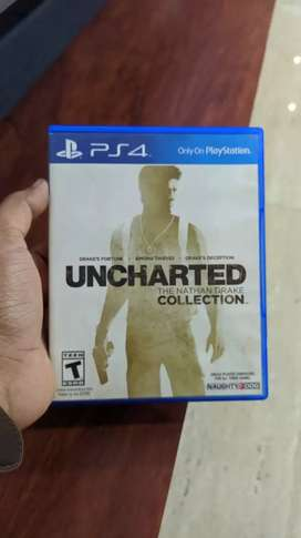 Uncharted - Nathan Drake Collection 1-2-3 for PS4