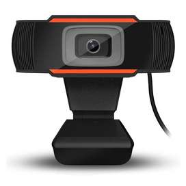 Webcam HD 720P With Microphone For Laptop PC Desktop Kamera Komputer