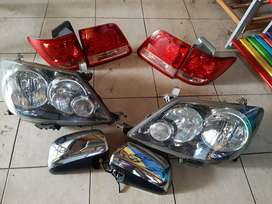 Head Lamp Fortuner old