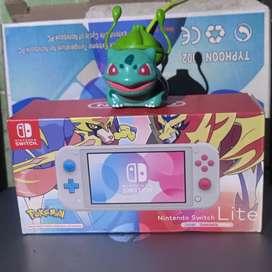 Nintendo Switch Lite Pokemon Edition Zacian Zamazenta