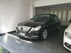 Mercy E 250 Anvangarde AMG 2013 Like New