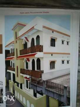 House for rent at rajiv Nagar road no 9 b near  B. K choudhary clinic