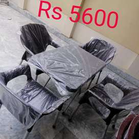 Plastic chairs tables set in best qulaity