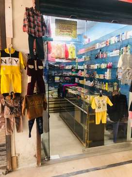 Cosmetic and Baby garments Running business