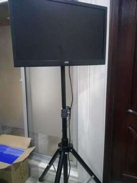 Lcd led tv foldable floor stand