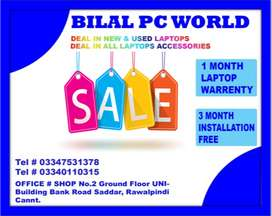 New Arrival Import Branded Laptop Stock Available>>BILAL PC WORLD
