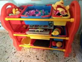 Preschool setup unused items