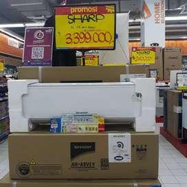 Sharp AC Split 1pk Promo Kredit Tanpa Dp Free 1x Angsuran