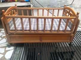 Babies wooden cot, cycle,swing,bouncer,steel cot