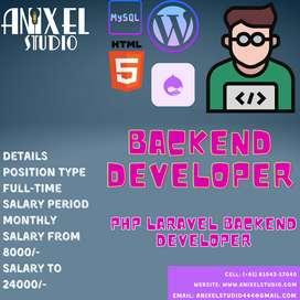 Backend developer Php laravel