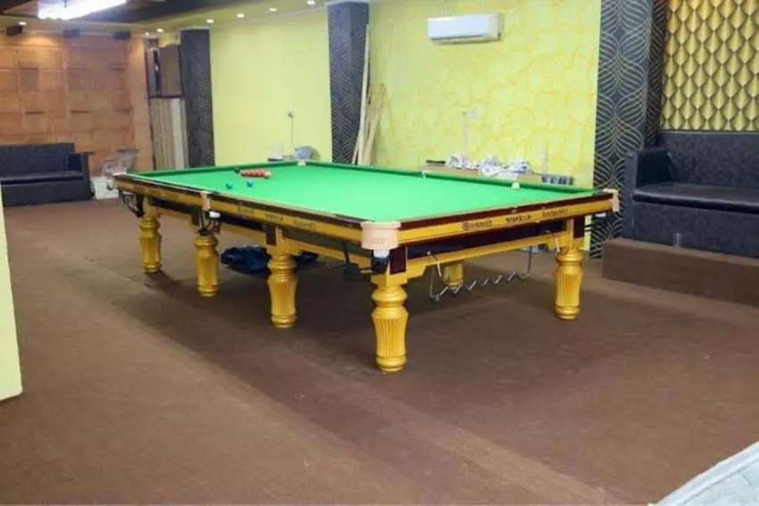 Snooker Table Factor 0