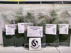 Spirulina Powder untuk Ikan (Guppy,Cupang,Daphnia dan lain)