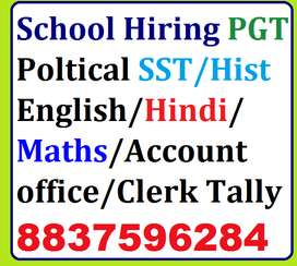 Ropar Punjab required staff PGT Maths,Dance ,SST-Poltical Sc,English