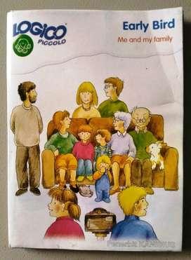 "Buku Logico Piccolo ""EARLY BIRD"" Me and My Family"