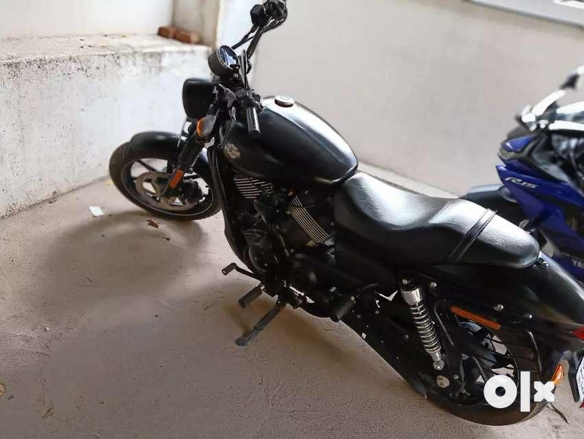 Harley Davidson XG750 vivid black 0