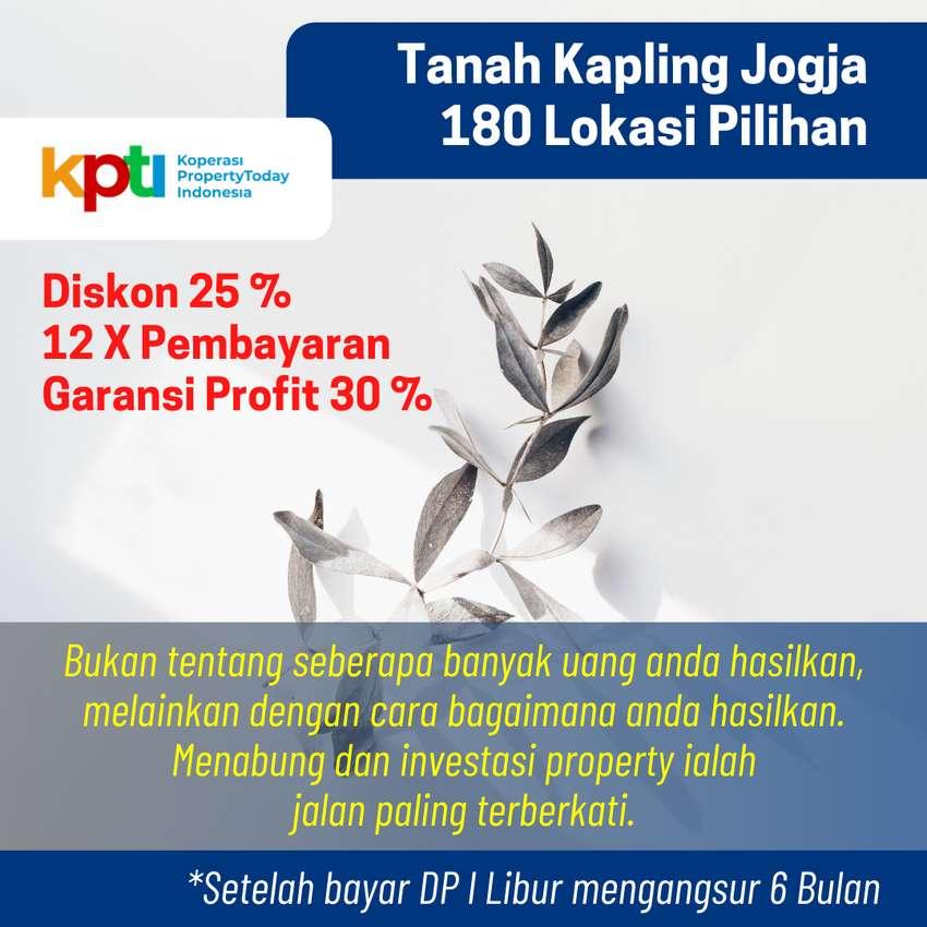 Strategis Dekat Kampus UII, Cocok Bangun Kost, Diskon 25% 0