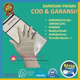 sarung tangan latex handseal examination gloves handscoon