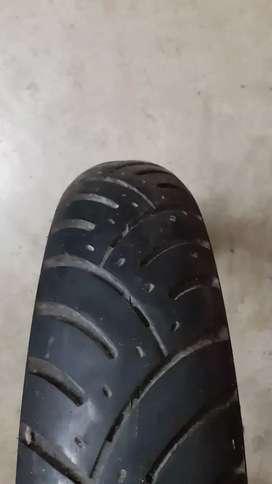 MRF nylogrip zapper tyre for bullet