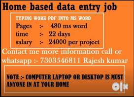 Real online Earning Opportunities from Home - EARN Rs.26,000 per month