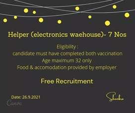 Electronic warehouse_ helper