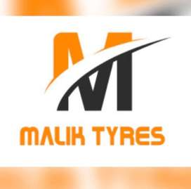 Car and bike tyres available at very good prices.