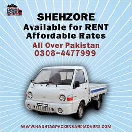 Mazda,Shahzore,Container and Truck for rent