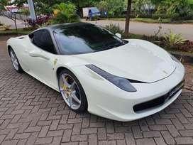 Ferrari 458 italia 2012 white