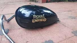 Bullet petrol tank