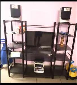 Rote Iron TV Cabinet
