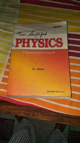 Sl Arora physics