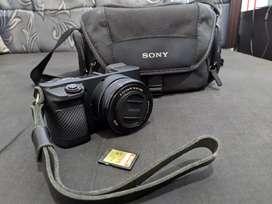 Jual Kamera mirrorless Sony a6000 / Sony Alpha 6000 mulus