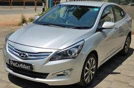 Hyundai Verna VTVT 1.6 SX Option, 2015, Petrol