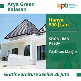 Arya Green Kalasan, Real Estate, Bukan Subsidi; Hanya 500 jutaan