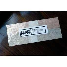 Pasak 7 x 4 x 200mm - Kayu Meranti Super - Kerajinan Craft Woodworking