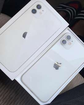 Iphone 11 64gb white colour with brand new condition