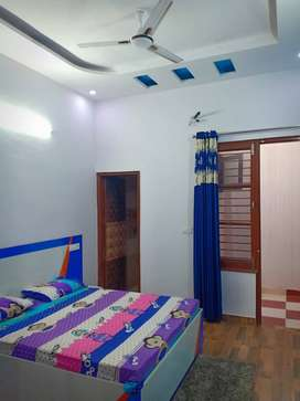 1bhk READY TO MOVE WITH fully furnished flat SEC-127 just in 12.70lac