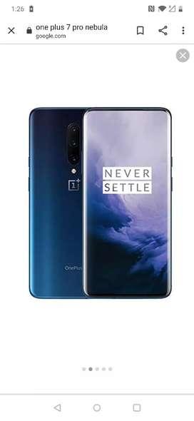 One plus 7 pro nebula blue 8gb 256 gb