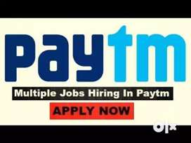 Paytm process Hiring 10th pass / 12th/ Freshers/ Graduate / Experience