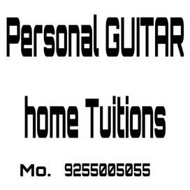 Personal Guitar Home tuitions