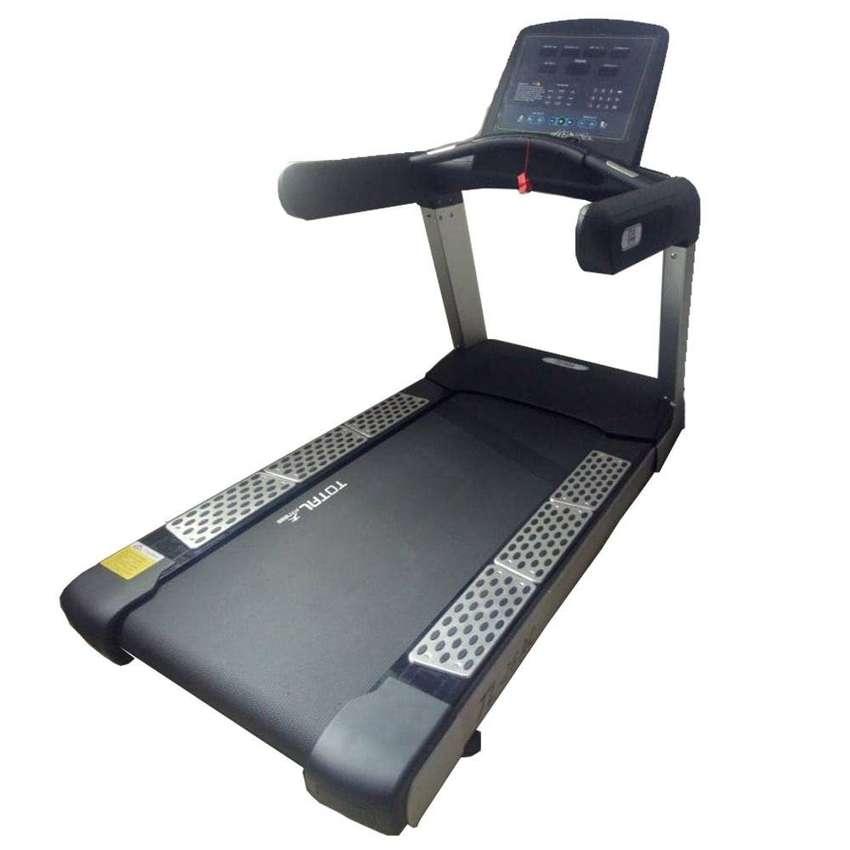 Alat Fitness Treadmill Elektrik TL 26 AC alat gym rumahan 0