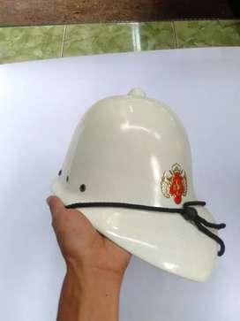 Helm kernil Belanda Inggris berlogo keraton jogja repro fiber