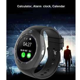 2019 Online Store Y1 Touch Screen Smart Watch Wrist Bluetooth SIM Card