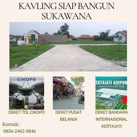 Tanah Kavling 2,25 Jutaan Sudah SHM Split Dekat Tol Kertajati