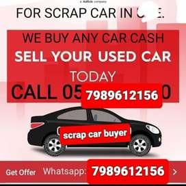 Scrap Cars buyers/ we buy scrap/Old Cars