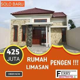 Rumah dijual solo baru baki grogol Sukoharjo Surakarta al azhar 425jt