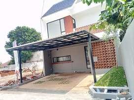 20.Rumah 2 lantai design Tropical dekat Cibubur - Jaktim
