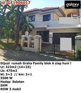 Dijual rumah Graha Family Famili blok A siap huni !