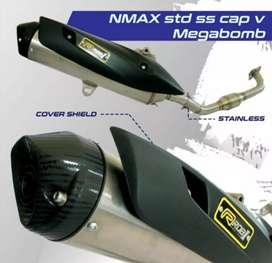 Knalpot yamaha nmax rob1 original