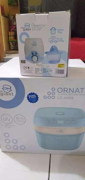 Sterilizer N dryer bottle warmer (steril pengering N pmanas botol asi)