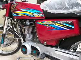 Tanky genuine honda cg125 model2018